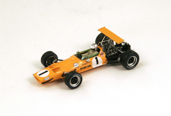 1/43 1968 McLaren M7A Winner Canadian GP No.1 Denny Hulme