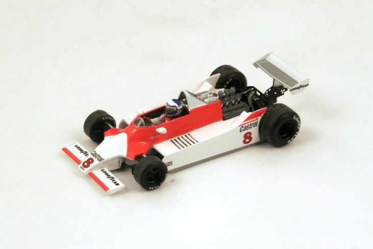 1/43 1980 McLaren M29 6th Argentina GP No.8 Alain Prost