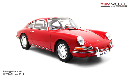 1/12 1964 Porsche 911 Red Limited 300 Pieces