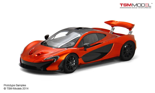 1/12 2013 McLaren P1™ Volcano Orange Limited 300 Pieces