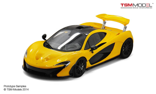 1/12 2013 McLaren P1™ Volcano Yellow Limited 300 Pieces