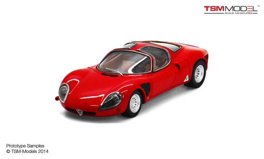 1/43 1968 Alfa Romeo 33 Stradale Late Version