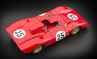 1/18 Ferrari 312P Mario Andretti Signature Version
